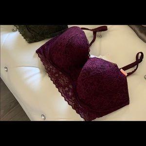 PINK Victoria's Secret Intimates & Sleepwear - NWT Victoria's Secret Lace Push Up Bralette